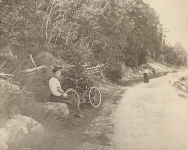 Bedford Highway around Princes Lodge, ca. 1898