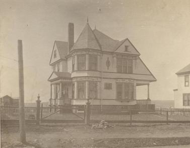 House at Willow Park, designed by A. F. Welton ca. 1900