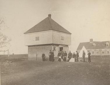 Fort Edward, 1897 after Great Windsor Fire
