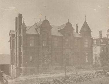 Pinehill Divinity College Building ca. 1900