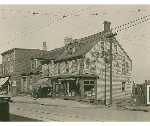 Corner of Gottingen and Prince William ca. 1930s.