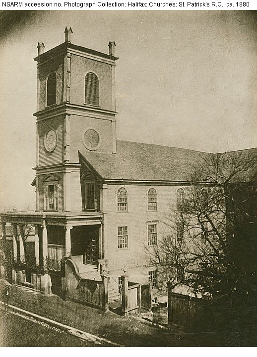 First Saint Patrick's Church, 1841-1883