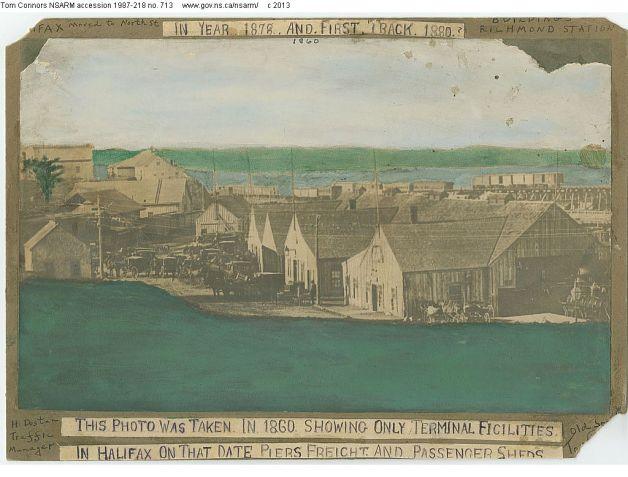 Richmond Station ca. 1860