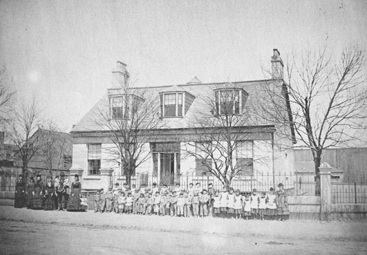 Protestant Orphan's Home, May 1874