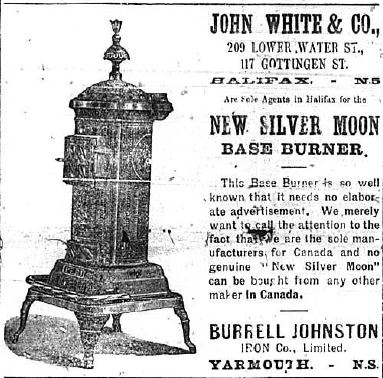 Advertisement for John White & Co.