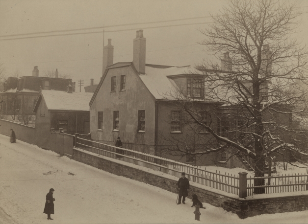 Corner of Cunard Street and Gottingen Street ca. 1891