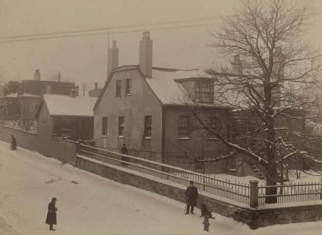 Corner of Cunard Street and Gottingen Street ca. 1891