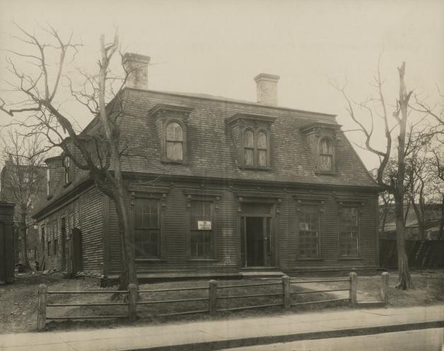 The McGregor/Mingowitz House, Gottingen Street.