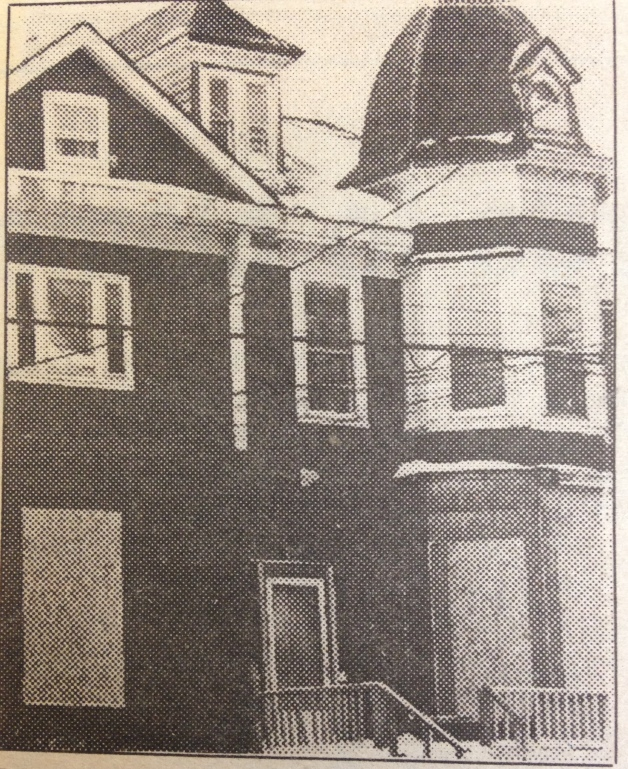 2518 Gottingen Street. Photo taken from The North End News, 9 March 1989