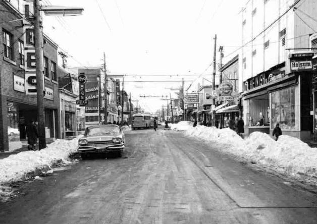 Gottingen at Cornwallis 1950s